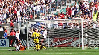 Great goal shot