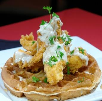 Chicken & Waffles2