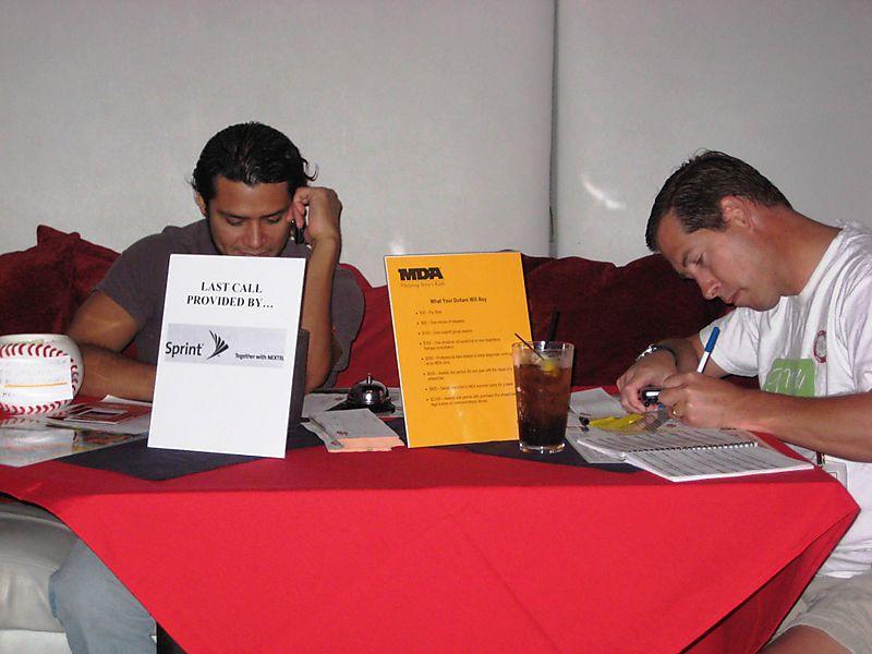 Volunteers calling