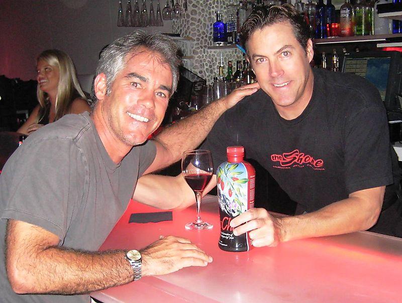 Bartender with gochi