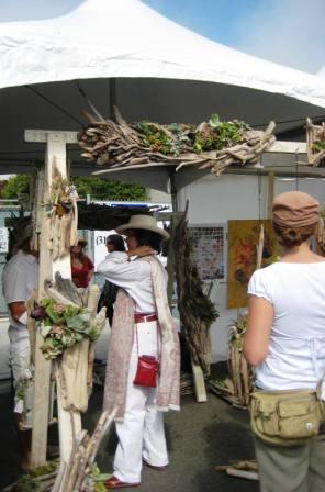 Firewood booth