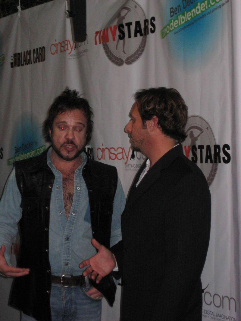 Domi & interviewer