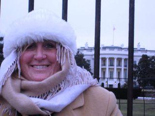 Me & white house