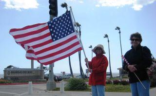Dockweiller & flags