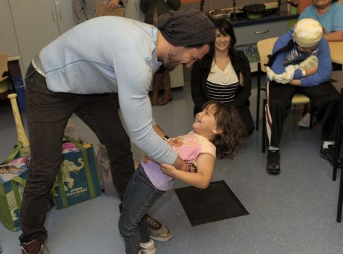 Maksim at Children's Hospital LA 2