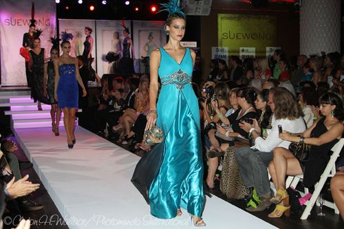 Sue Wong Fashion Show 20