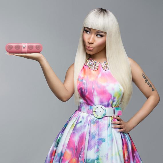 Beats By Dre Pill Wireless Speaker_Nicki Minaj