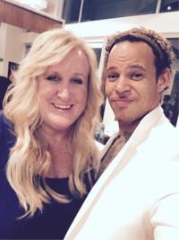 David Reid and Joy at The Doves Salon in Santa Monica