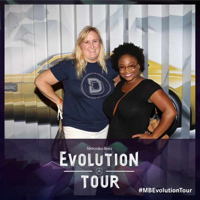 Joy & Tomiya at #MBEvolution Tour