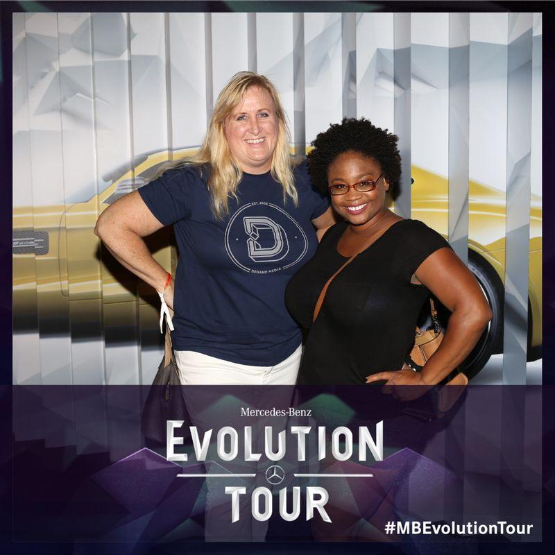 Joy & Tomiya at #MBEvolution Tour